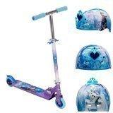 Huffy Disney Frozen Girls Scooter Helmet 2 Piece Combo Set by Disney Huffy Bell Sports