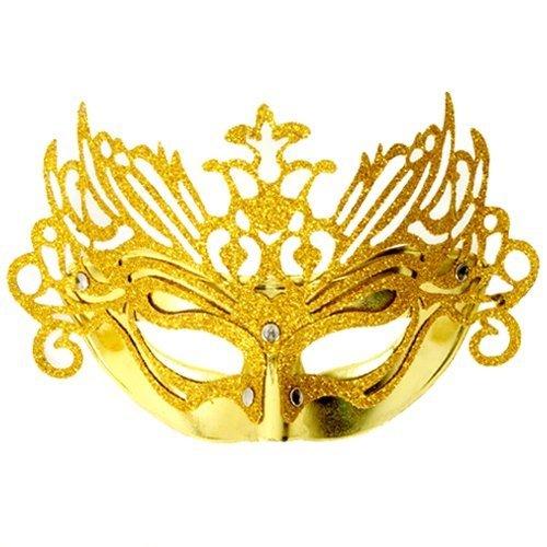 Fun Party Toy - Luxury Fox Half Mask Gold