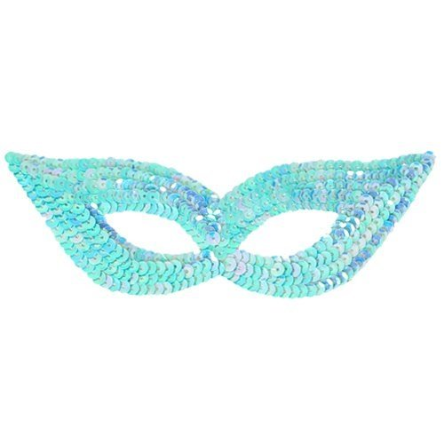 Fun Party Toy - Party Sequin Eye Mask blue