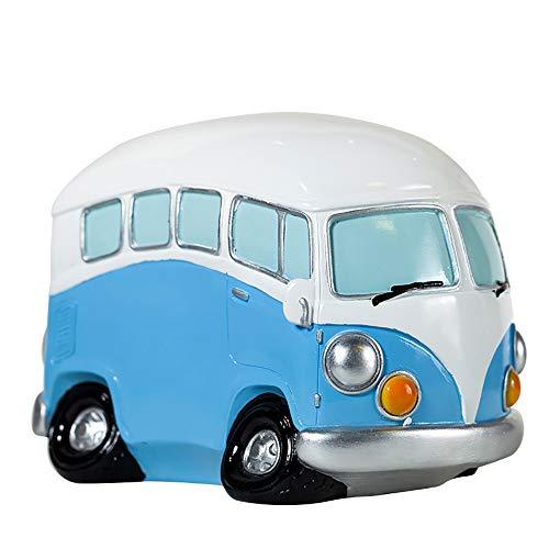 Anna Gifts Creative Vintage Bus Adult Coin BankBus Piggy BankDecorative Saving BankPiggy Bank for Boys and Girls