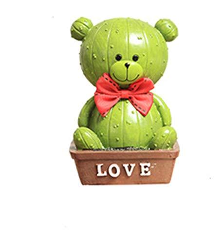 BuyBuyBuy Korea Creative Bear Decoration Cute Cartoon Child Boy Girl Adult Piggy Bank Savings Tank Large Size  Large Dark Bear