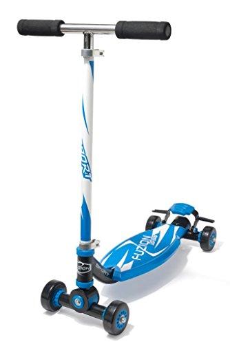 Fuzion 4 Wheel Sport Scooter Blue