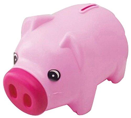 Taloyer Lovely Cute Cartoon Pig Shape Coin Storage Money Saving Piggy Bank for Kids Gift