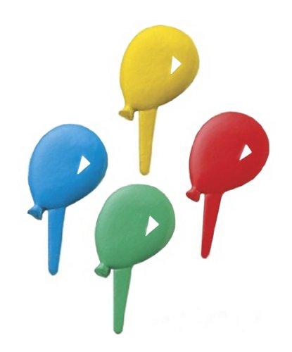 Balloon Cupcake Picks - set of 12