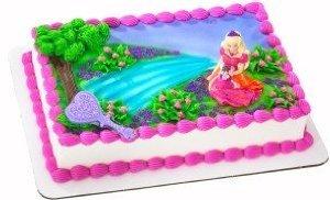 Barbie Diamond Castle Cake Topper