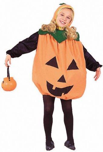 Childs Pumpkin Halloween Costume Large 12-14