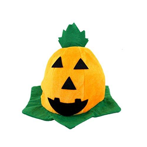 Tenworld Witch Hats Costume Party Props Halloween Pumpkin Hat