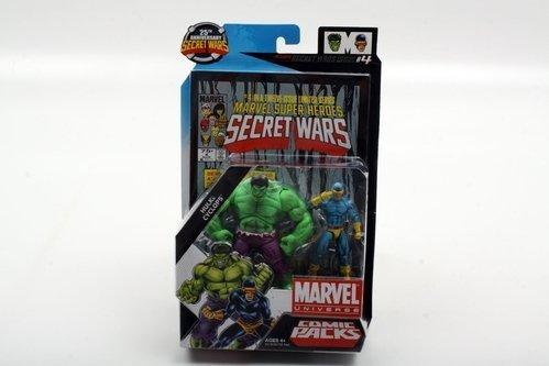 Marvel Universe Comic Packs Hulk and Cyclops