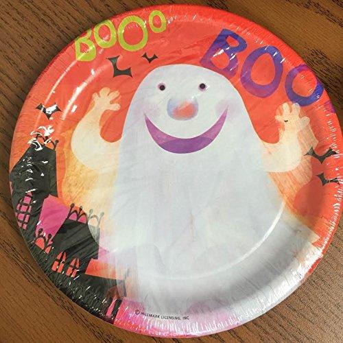 Friendly Fun Halloween Dessert Plates 7in 8ct