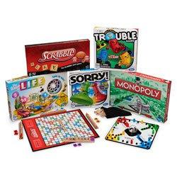 Nascos Classic Board Games Complete Set - EL11516