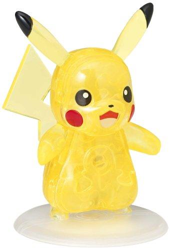 Beverly Pokemon XY Crystal 3D Jigsaw Puzzle - Pikachu 29 Piece