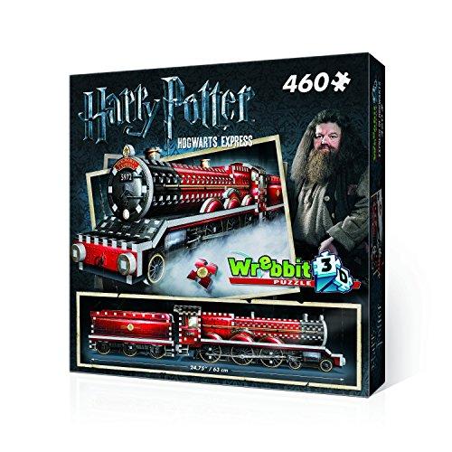 WREBBIT 3D Hogwarts Express 3D Jigsaw Puzzle 460 Pieces