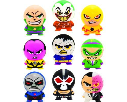DC Comics Collectible Villains Buildable mini figurines Set of 9