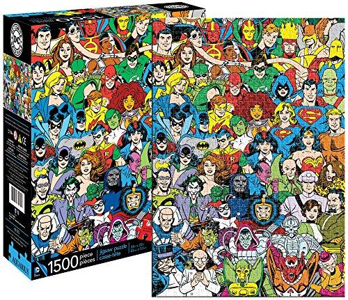 Aquarius DC Comics Retro Universe Jigsaw Puzzle 1500-Piece