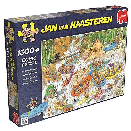 Jan van Haasteren - Comic Puzzle - Rafting Wild Water - 1500 pièces by Jumbo