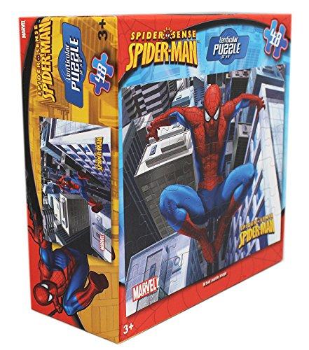 Marvel Comics Spiderman Spider Sense 48 Piece Lenticular Puzzle