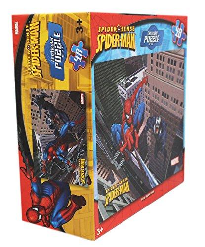 Marvel Comics Spiderman and Venom 48 Piece Lenticular Puzzle