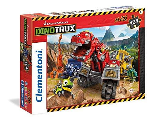 Clementoni Dino Trux Maxi Puzzle 104 Piece