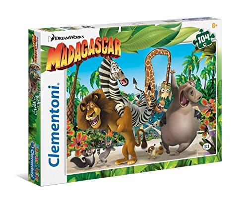 Clementoni Madagascar Puzzle 104 Piece