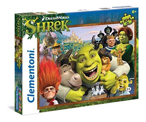 Clementoni Shrek Puzzle 104 Piece