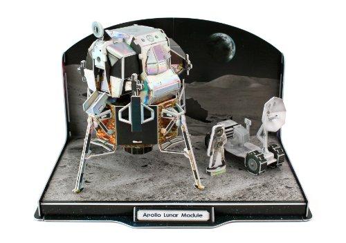 Daron Lunar Module 3D Puzzle 104-Piece