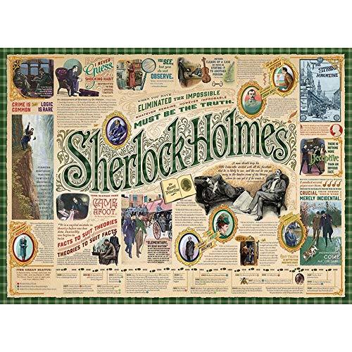 Cobble Hill Puzzles Sherlock 1000 Piece Pop Culture Jigsaw Puzzle