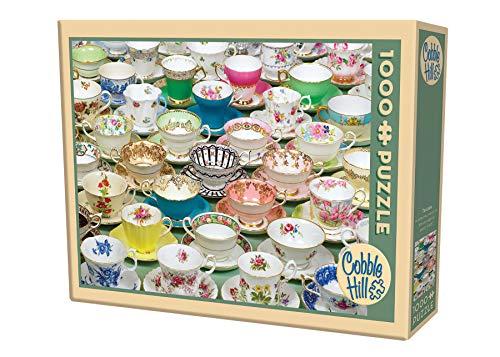 Cobble Hill Tea Cups Jigsaw Puzzle 1000 Piece