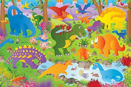 Galt Giant 36 Floor Puzzle - Dinosaurs