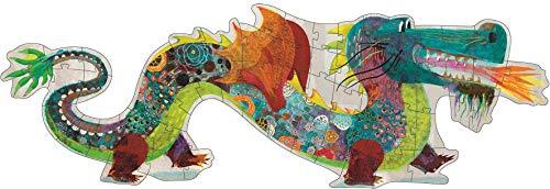 DJECO Leon The Dragon Giant Floor Jig Saw Puzzle