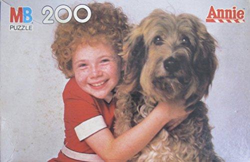 LITTLE ORPHAN ANNIE and Her Dog SANDY 200 Piece PUZZLE SEALED BOX Milton Bradley 1982 Tribune Columbia