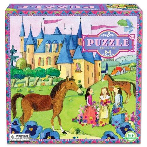 EeBoo Castle Puzzle 64 Pieces