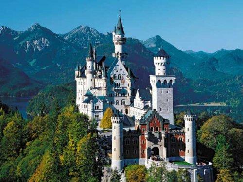 Enchanting Neuschwanstein Castle Puzzle - 300 Pieces