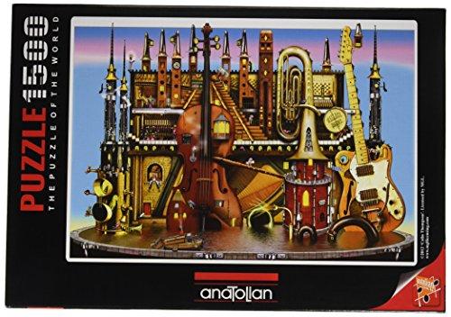 Perre Music Castle Puzzle 1500-Piece