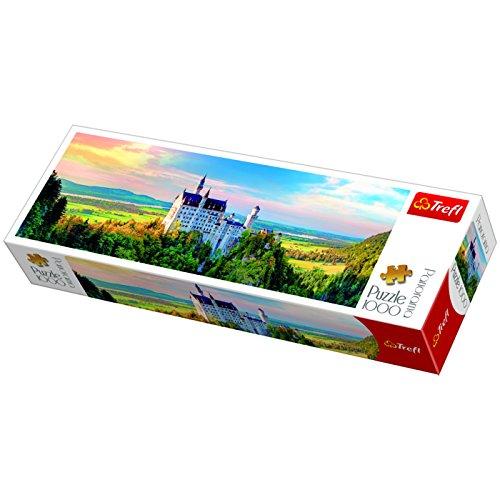 Trefl Panorama Neuschwanstein Castle Puzzle 1000 Pieces