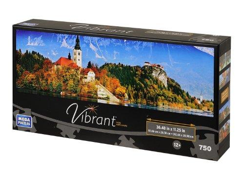Vibrant Panorama Slovenia Castle Puzzle 750-Piece