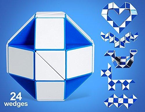 Rubik Snake Twist Puzzle 24 Widgets Big Size with Free 56 Patterns
