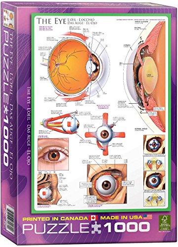 EuroGraphics Human Body The Eye Puzzle 1000-Piece