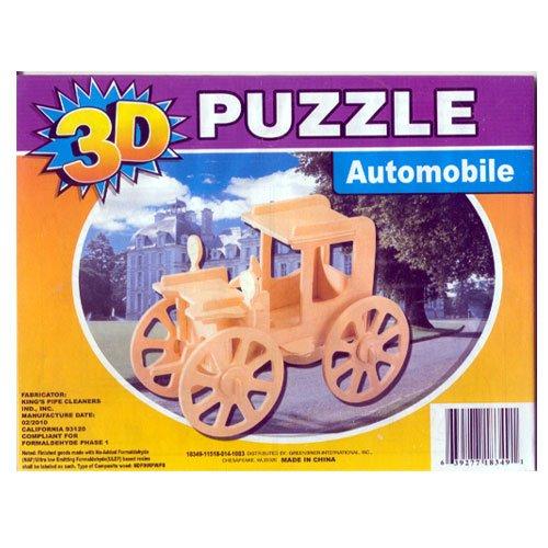 3D Jigsaw Woodcraft Puzzle Automobile