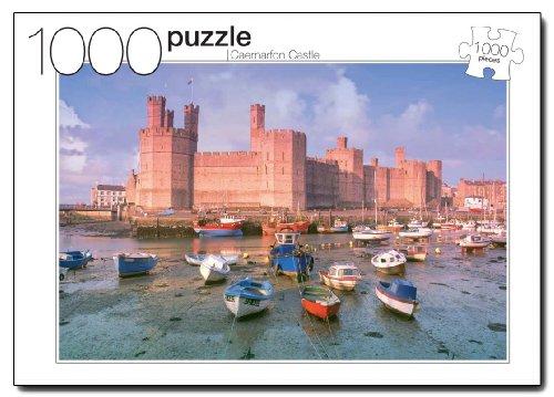 Caernarfon Castle Jigsaw Puzzle 1000-Piece