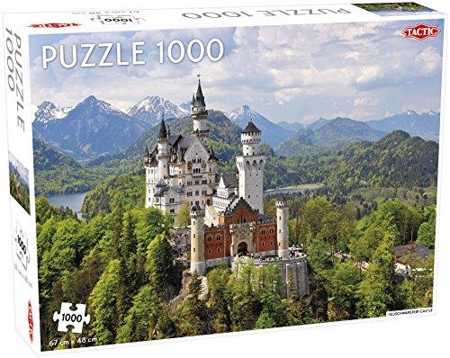 Tactic Neuschwanstein Castle Jigsaw Puzzle 1000 Pieces