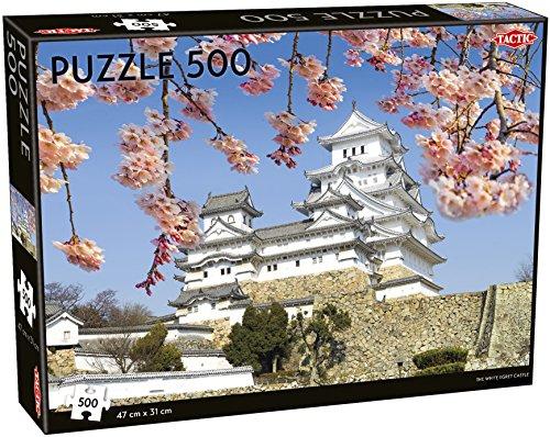 Tactic White Egret Castle Jigsaw Puzzle 500 Pieces