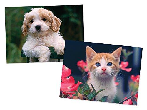 Melissa Doug Puppy and Kitten Jigsaw Puzzles Set 30 pcs each