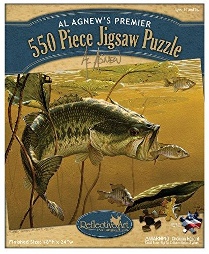 Reflective Art Golden Moments 550-Piece Jigsaw Puzzle Set