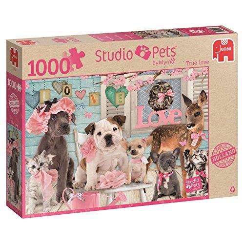 Jumbo Studio Pets True Love Jigsaw Puzzle 1000 Piece