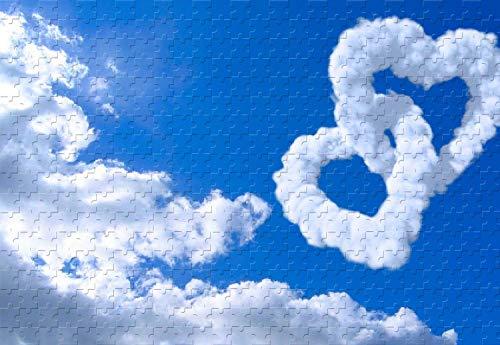 Popular Sky Love Cloud 1000 Piece Jigsaw Puzzle 295 X 196 Wooden Puzzle Adult Special Graduation
