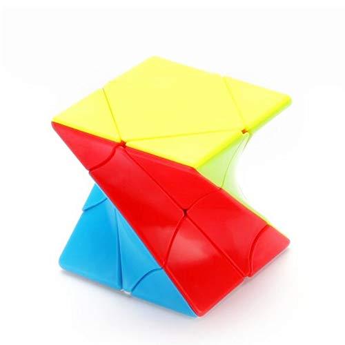 CuberSpeed Twisty skewb stickerless Speed Cube Twist skewb Puzzle