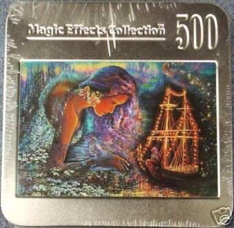 Josephine Wall Starship Jigsaw Puzzle Tin 500 Pieces New