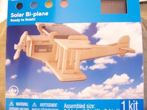 Creatology Wooden Puzzle ~ Solar Bi-Plane
