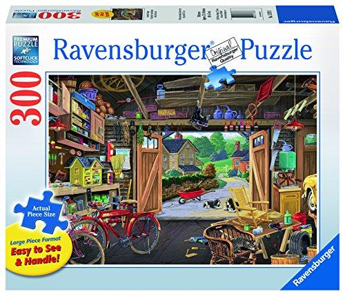 Ravensburger Grandpas Garage Jigsaw Puzzle 300 Piece