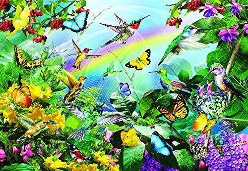 Hummingbird Flight 200 pc Jigsaw Puzzle by SunsOut